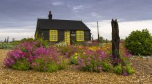 Prospect Cottage at Dungeness, once owned by Derek Jarman.  Photograph: Getty Images