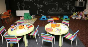 The 'Sanctuary' play area. Photograph: Brian Farrell