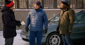 Top Gear returned with a slimmed down team of Chris Harris (left), Matt LeBlanc (centre) and Rory Reid: and it may just have snuck ahead of the bloated Grand Tour, presented by Jeremy Clarkson, Richard Hammond and James May