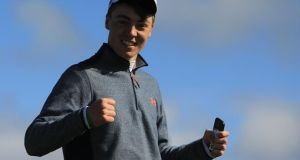Kevin LeBlanc, The Island and Maynooth University, who reached the semi-final of the Spanish Amateur Championship at El Saler, Valenciato.