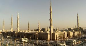 Nabawi Mosque in Medina, Saudi Arabia: moving back to Ireland after 17 years in the country. Photograph: iStock