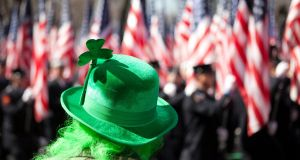 "St Patrick's Day parade in New York: Enda Kenny is going to the White House on St Patrick's Day to ""stand up for the undocumented Irish"" – but will he stand up for all of those in the same boat? Photograph: iStock"