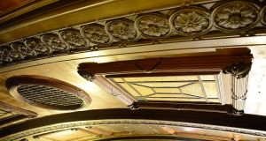 The former Stella cinema Rathmines. During its restoration cinema will be returned to its original style of one large venue distinguished by its decorative ceiling. Photograph: Bryan O'Brien