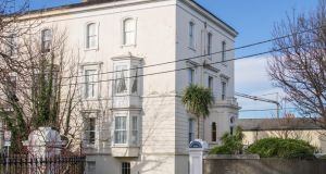 Number 1 Crosthwaite Park West, Dún Laoghaire: end-of-terrace house has quarter of an acre of grounds