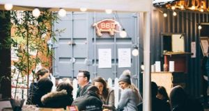 Street food marketplace Eatyard has reopened at The Bernard Shaw in Dublin 2