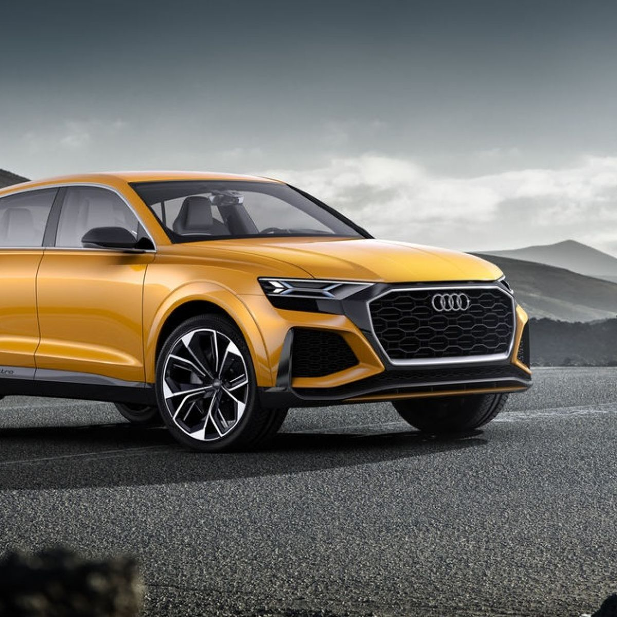 Geneva Motor Show Audi Mixes Eco Ambitions With Hot Coupe
