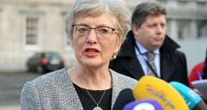 Minister for Children Katherine Zappone is expected to give an update on the Tuam scandal to her Cabinet colleagues. hotograph: Eric Luke / The Irish Times