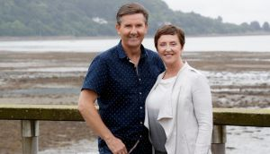 Pure filth: Daniel and Majella's 'B&B Road Trip'. Photograph: RTÉ