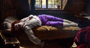 Mythologising: from Henry Wallis's painting of Thomas Chatterton's death. Photograph: UIG via Getty