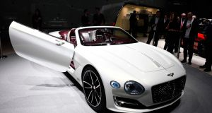Bentley's new coupe is the prettiest car of the show