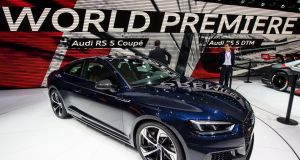 A world debut for the Audi RS5