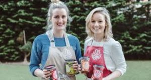 Sarah O'Connor and Isolde Johnson, founders of the Cool Bean Company. In Ireland, there are just over two men that are either nascent entrepreneurs or  business owners for every female early-stage entrepreneur.