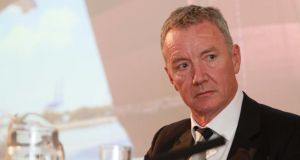 Tullow Oil chief executive Aidan Heavey, who steps down next month.