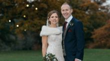 Our wedding story: 'A mutual love of running and burgers'