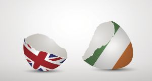 Brexit effect: It will  be challenging  to find solutions to minimise the impact on trade between Ireland and Britain and to avoid disruption to the the peace process. Illustration: Getty
