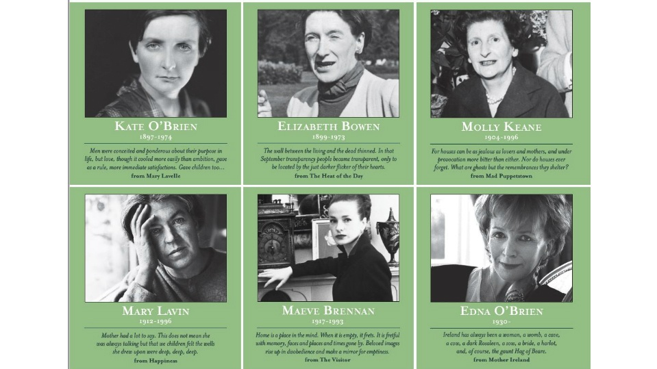 Writers of Ireland poster