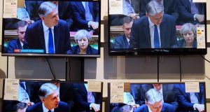 UK chancellor of the exchequer Philip Hammond makes his maiden budget speech.