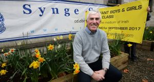 Gerard Mooney, principal at Synge Street primary school in Dublin 8.  Photograph: Cyril Byrne