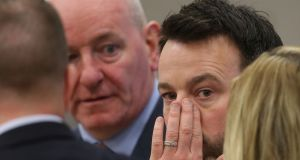 "SDLP leader Colum Eastwood said joint authority  was ""the only acceptable position for the nationalist community if, post-election, an Executive cannot be formed"".  Photograph: Niall Carson/PA Wire"