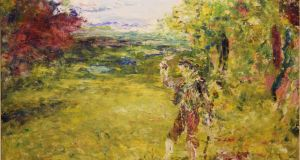 Jack B Yeats: From The Woods Shadow, €80,000-€120,000.