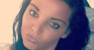 Annmarie O'Brien (27) who died in the fire at an apartment in the Kilcronan estate in Clondalkin.