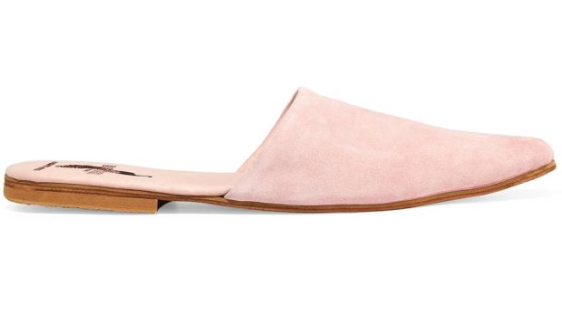 Sister suede slippers, €301 from Brother Vellies