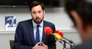 Minister of State for Financial Services Eoghan Murphy: devising   measures to combat insurance fraud. Photograph: Cyril Byrne