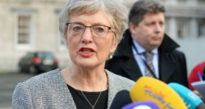 "Katherine Zappone: Tuam was ""part of a tapestry of oppression, abuse and systematic human rights violations"". Photograph: Eric Luke"