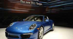The Porsche AG 911 Targa. File image: Bloomberg