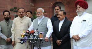 Elections uttar pradesh assembly polls exit suggest modi clearly ahead