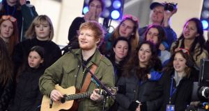 'Just 20 years ago, it may be argued, a milksop mewler such as Ed Sheeran would have been laughed off stage by the first audience he stood in front of'