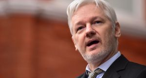 Wikileaks founder Julian Assange said the group would give technology companies exclusive access to technical details of Central Intelligence Agency's reported hacking tools. Photograph: Dominic Lipinski/PA Wire