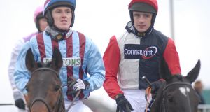 "Tony McCoy and Ruby Walsh at Cheltenham in 2006. ""Fellas just took their lead from him [McCoy]. You could see it in them,"" says Healy. Photograph: Healy Racing"
