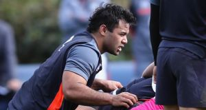 Billy Vunipola returns to the England squad for their Calcutta Cup match against Scotland at Twickenham. Photograph: David Rogers/Getty