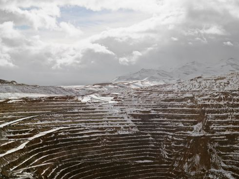 Shortlisted: Lucas Foglia (USA) - Open Pit, Newmont Mining Corporation, Carlin, Nevada