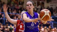 "UCC Glanmire's Áine McKenna: ""We were delighted to be crowned regular season champions but now all our focus is on the top four and retaining our league title."" Photograph: Tommy Dickson/Inpho"