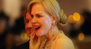 Nicole Kidman at this year's Oscars in Hollywood, California, the US. Photograph: Mike Blake/Reuters