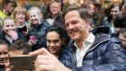 Mark Rutte: news of economic recovery underlined by the prime minister appears to be resonating with older middle-class voters, polls show. Photographer: Jasper Juinen/Bloomberg