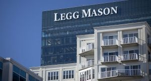 Legg Mason has more than $710 billion of assets under management. Photograph: Andrew Harrer/Bloomberg via Getty Images