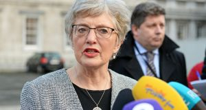 Minister for Children Katherine Zappone had initially blocked the Government from reaching an agreed position on the bill but overcame her misgivings following advice from the attorney general. Photograph: Eric Luke / The Irish Times
