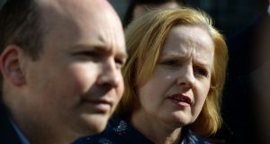 File photograph of two of Solidarity's three TDs,  Paul Murphy and Ruth Coppinger. The third is Mick Barry. Photograph: Dara Mac Dónaill