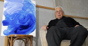 Artist Howard Hodgkin, who has died at the age of 84. File photograph: Justin Setterfield/LOCOG/PA Wire