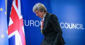 Theresa May: It is bizarre that her pursuit of a hard Brexit is not seen as the biggest mistake of her premiership to date. Photograph: EPA