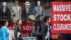 BDO said its monthly High Street Sales Tracker found overall UK like-for-like sales fell 2.2 per cent in February
