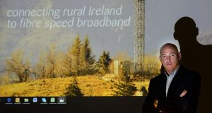 Imagine CEO Sean Bolger: he said the Government's National Broadband Plan had opted for a fibre solution that was way beyond what was needed. Photograph: Dara Mac Dónaill