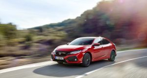 The Civic  feels much lower slung and more enthusiastic than the three previous models