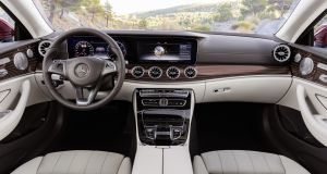 Mercedes-Benz E-Class coupe: inside the cabin is hushed and well insulated from the road