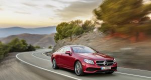 Mercedes-Benz E-Class coupe: elegant without being too flashy
