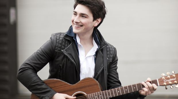 Brendan Murray (20) will perform the ballad Dying To Try at the Eurovision Song Contest Ukraine capital Kiev this May. Photograph: RTÉ