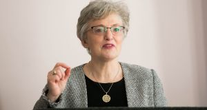 Minister for Children and Youth Affairs Katherine Zappone said: 'If OutVets are not in the parade I definitely won't be taking part.' Photograph: Gareth Chaney Collins